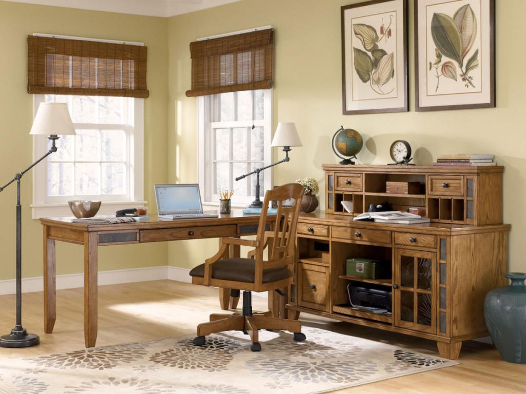 Rustic Home Office Furniture Excellent