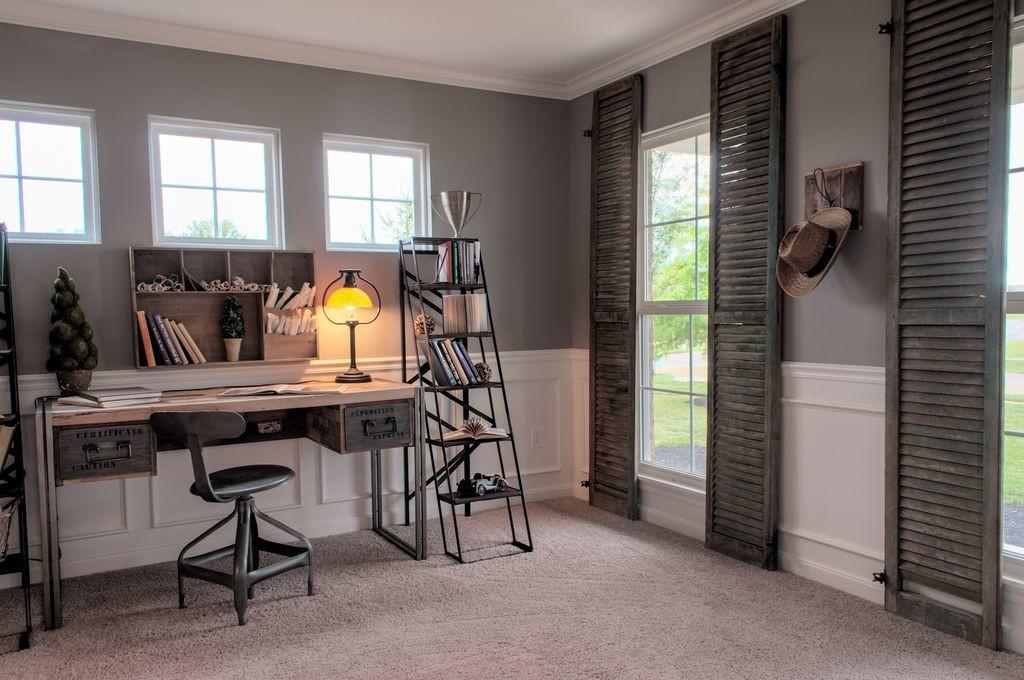 Rustic Home Office Zillow Digs