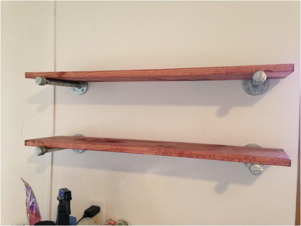 Rustic Industrial Shelf Brackets Diy Dining Room Open