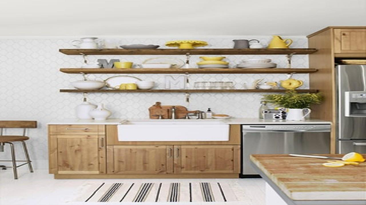 Rustic Kitchen Shelving Ideas Shelves