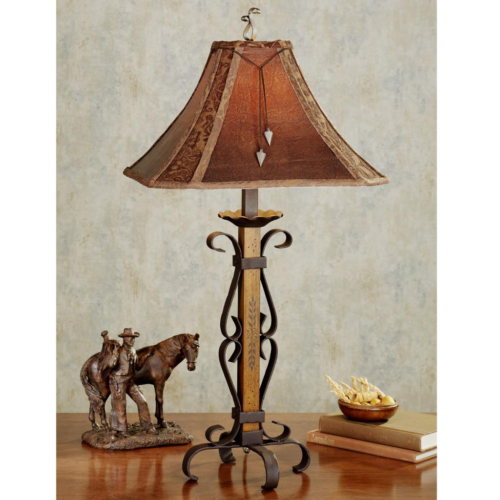 Rustic Lamp Table Trendy Night Lamps