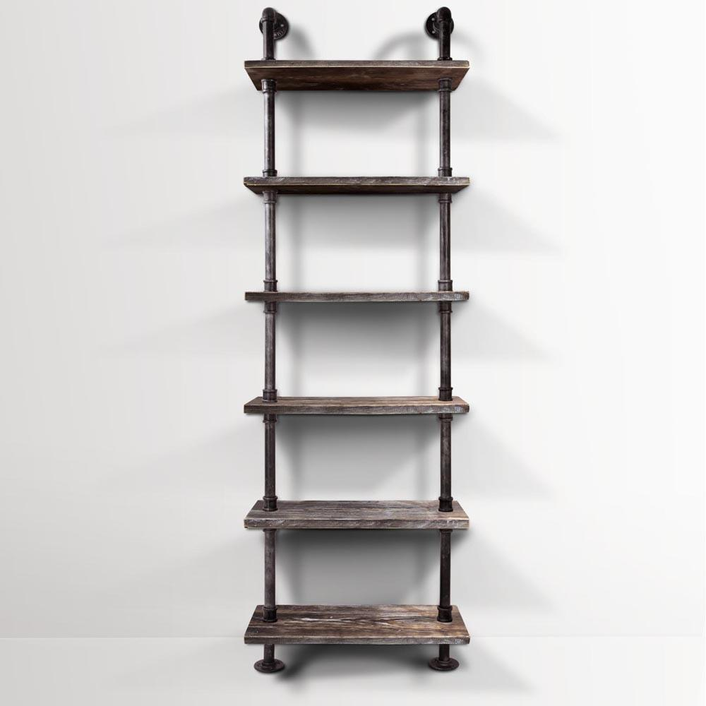 Rustic Level Diy Industrial Pipe Shelf Storage Vintage
