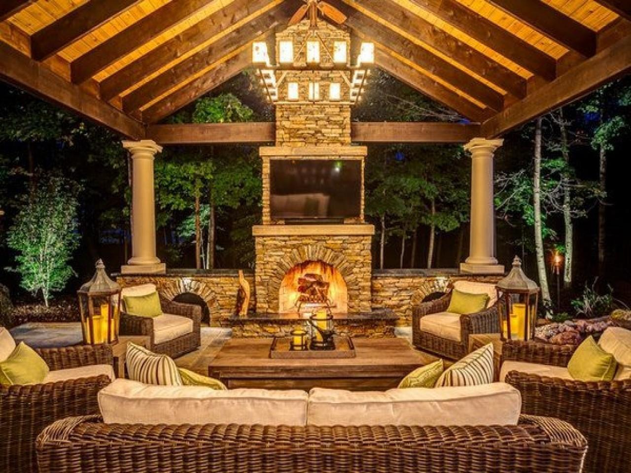 Rustic Lighting Ideas Outdoor