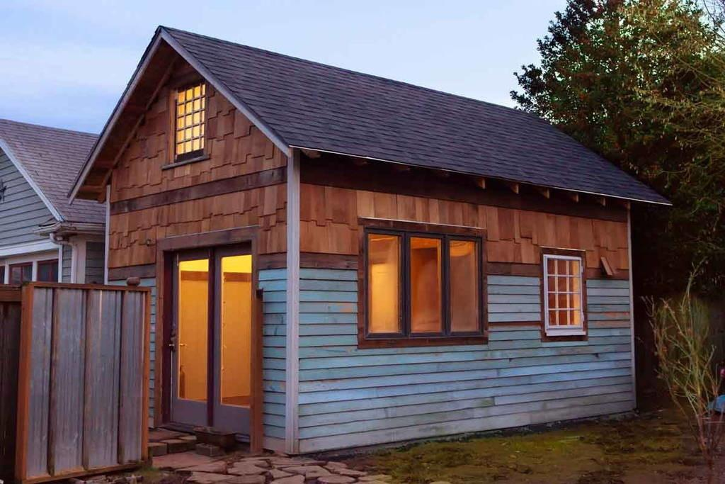 Rustic Modern Tiny House Living
