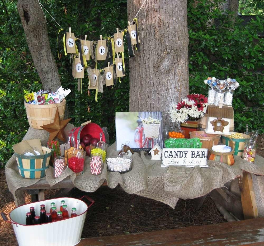 Rustic Outdoor Summer Party Ideas Catch