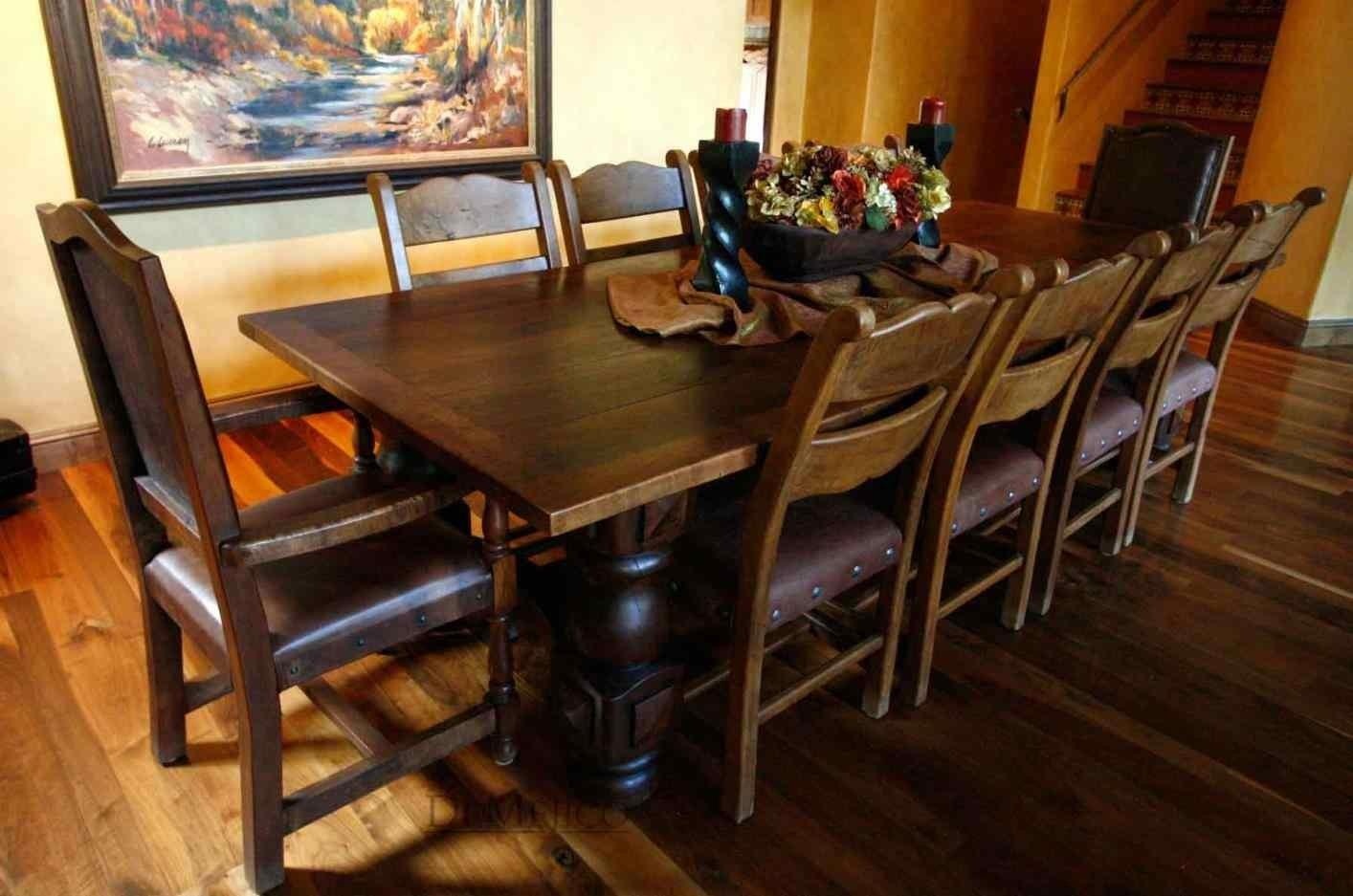 Rustic Spanish Style Furniture Table Fabulous Antique