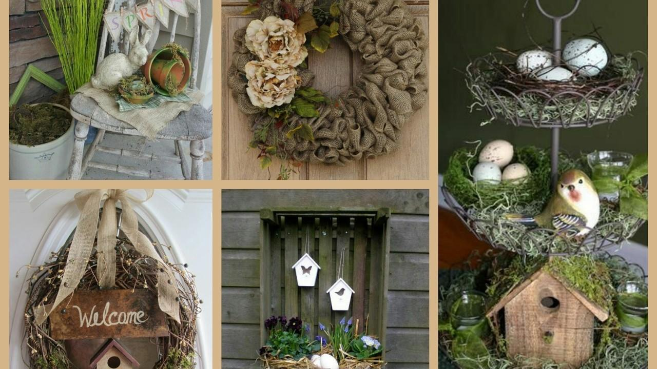 Rustic Spring Decor Ideas Decorating