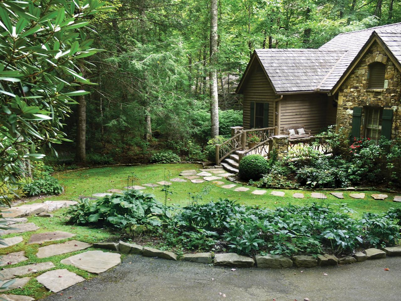 Rustic Stone Cottage House Plans