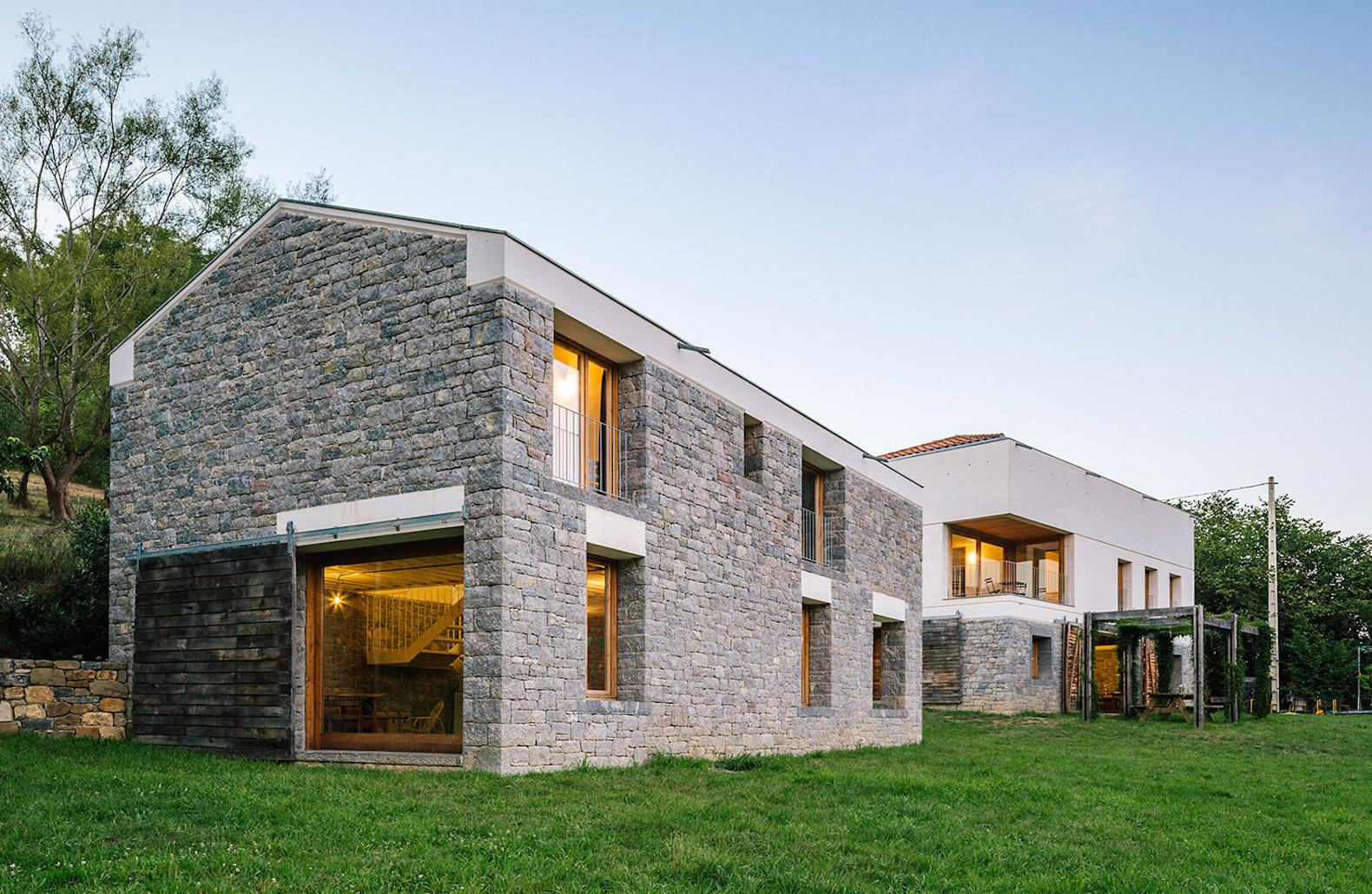 Rustic Stone Farmhouse Stable Hides Beautiful