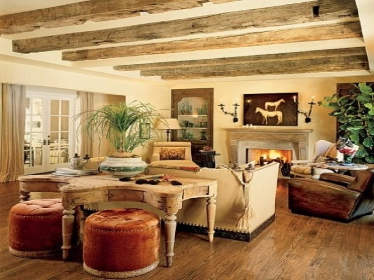 Rustic Style Living Rooms Cozy Room Ideas