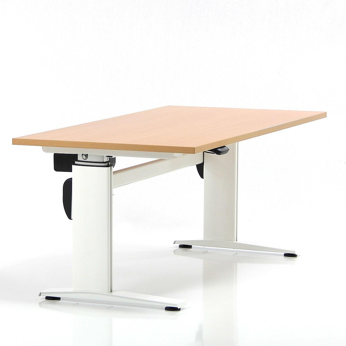 Rustic Varnished Wooden Stand Working Desk Well