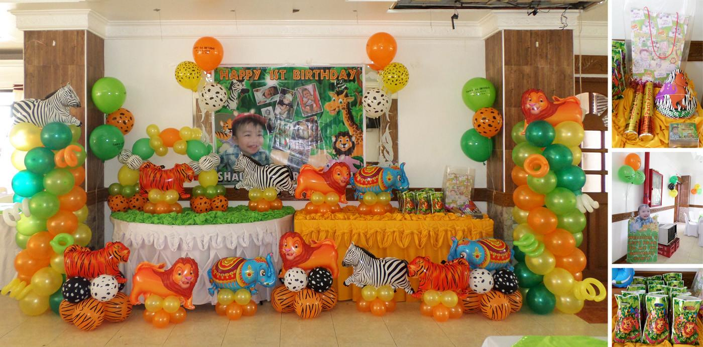 Safari Cebu Balloons Party Supplies
