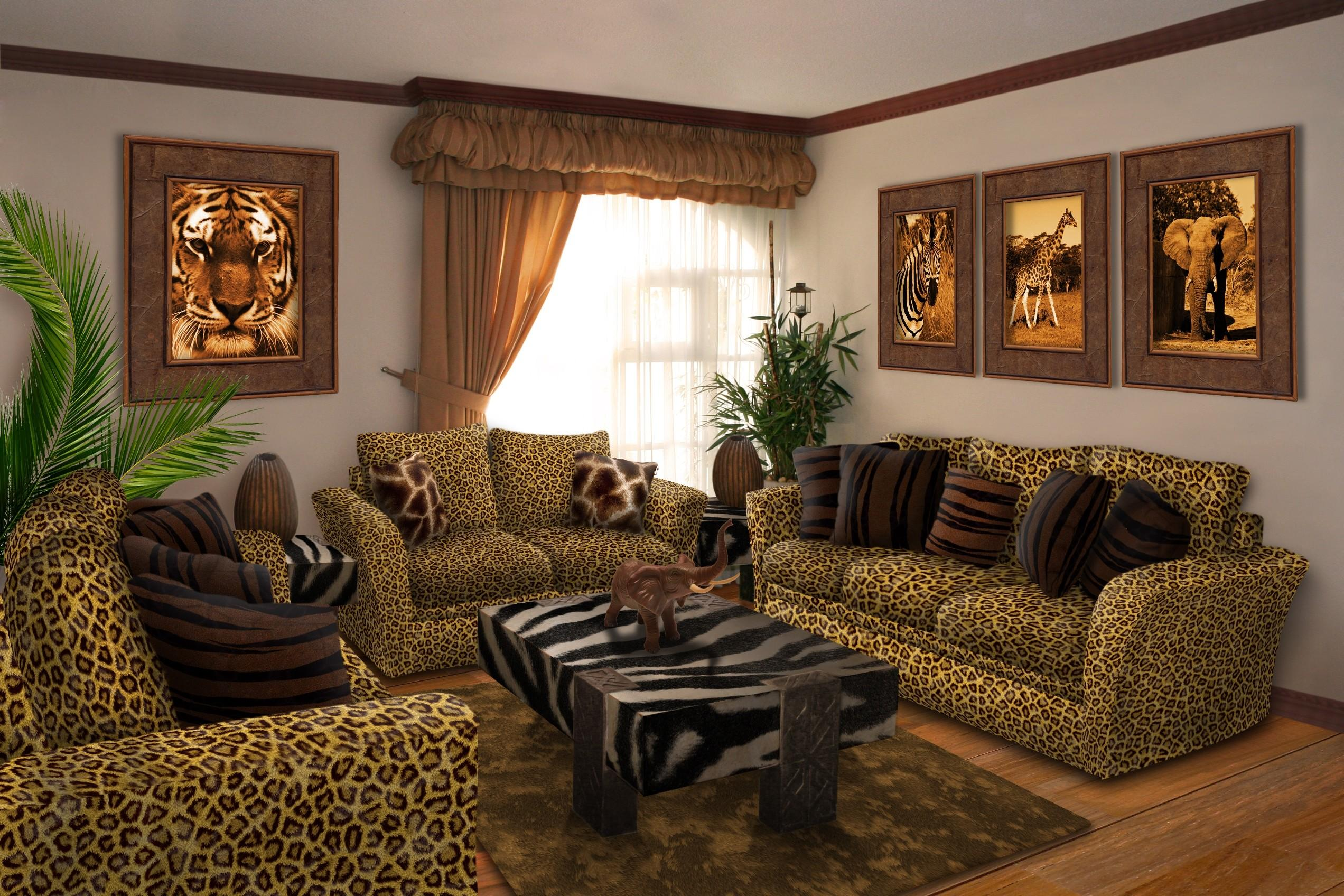 Safari Living Room Andrej2249 Interior