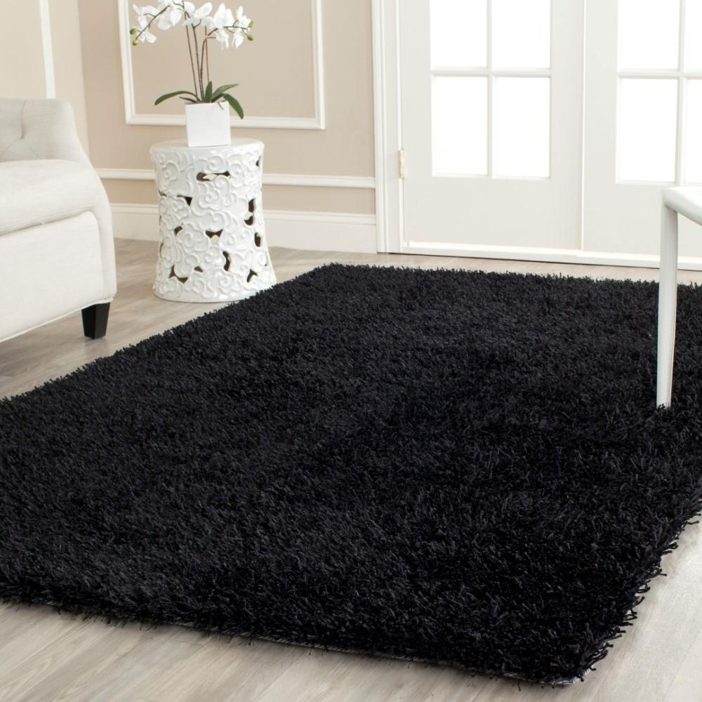 Safavieh Paris Handmade Black Area Rug