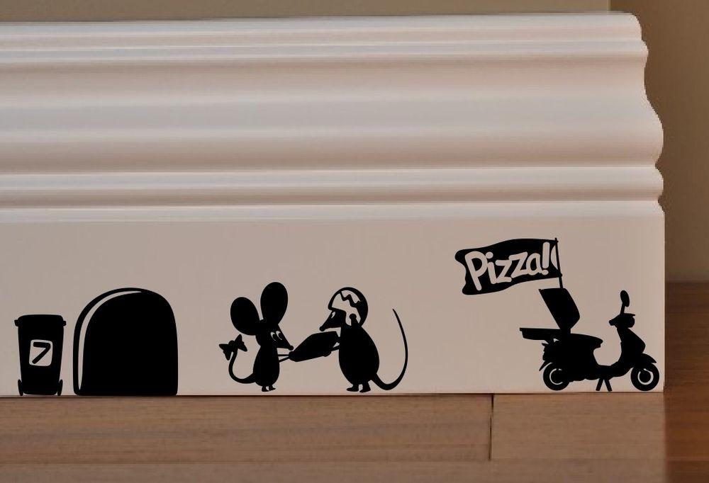 Sale Left Mouse Pizza Man Love Heart Funny Wall Art