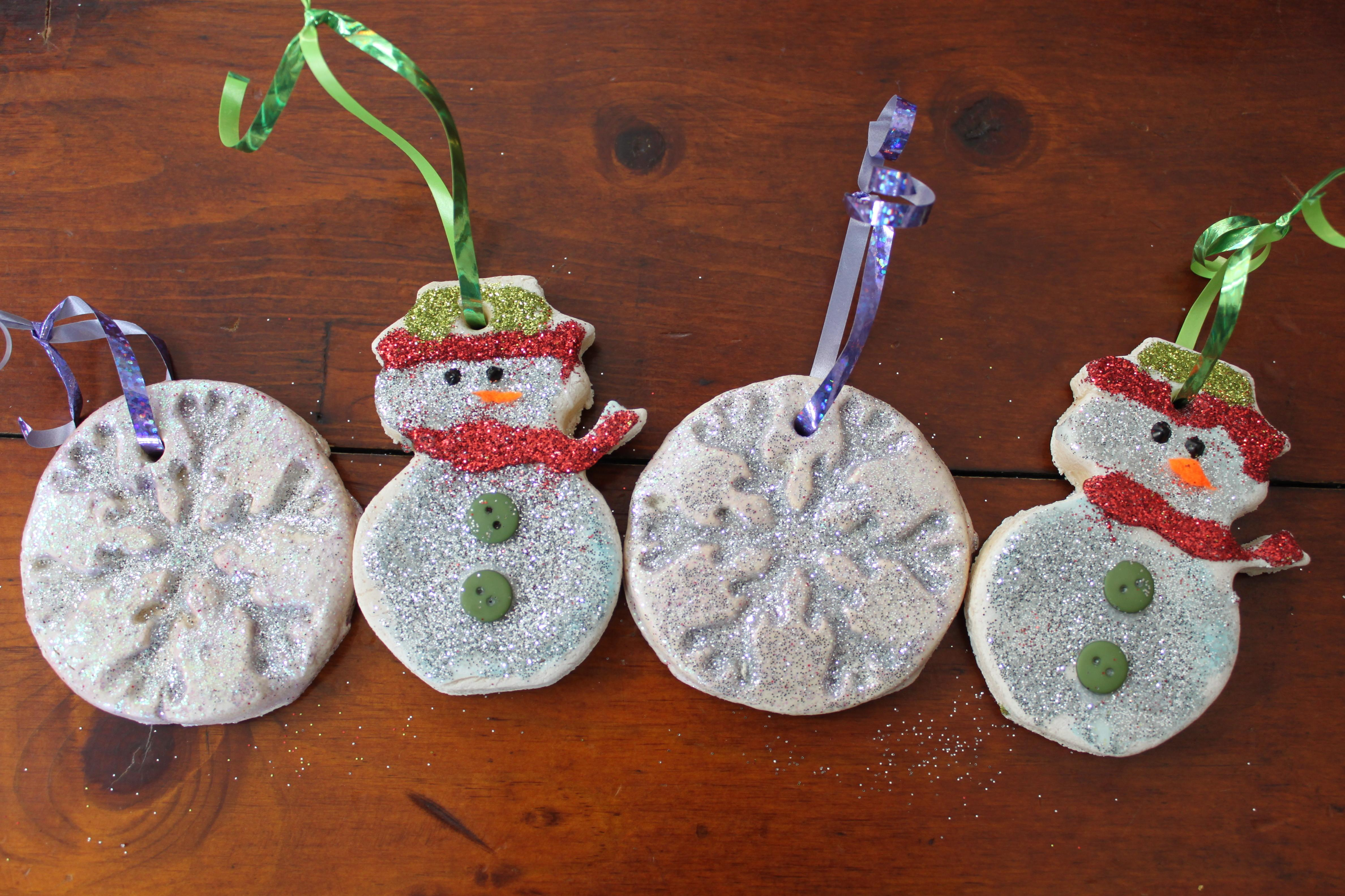 Salt Dough Ornaments
