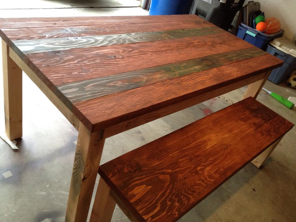 Salvaged Wood Dining Tables Recycled Table