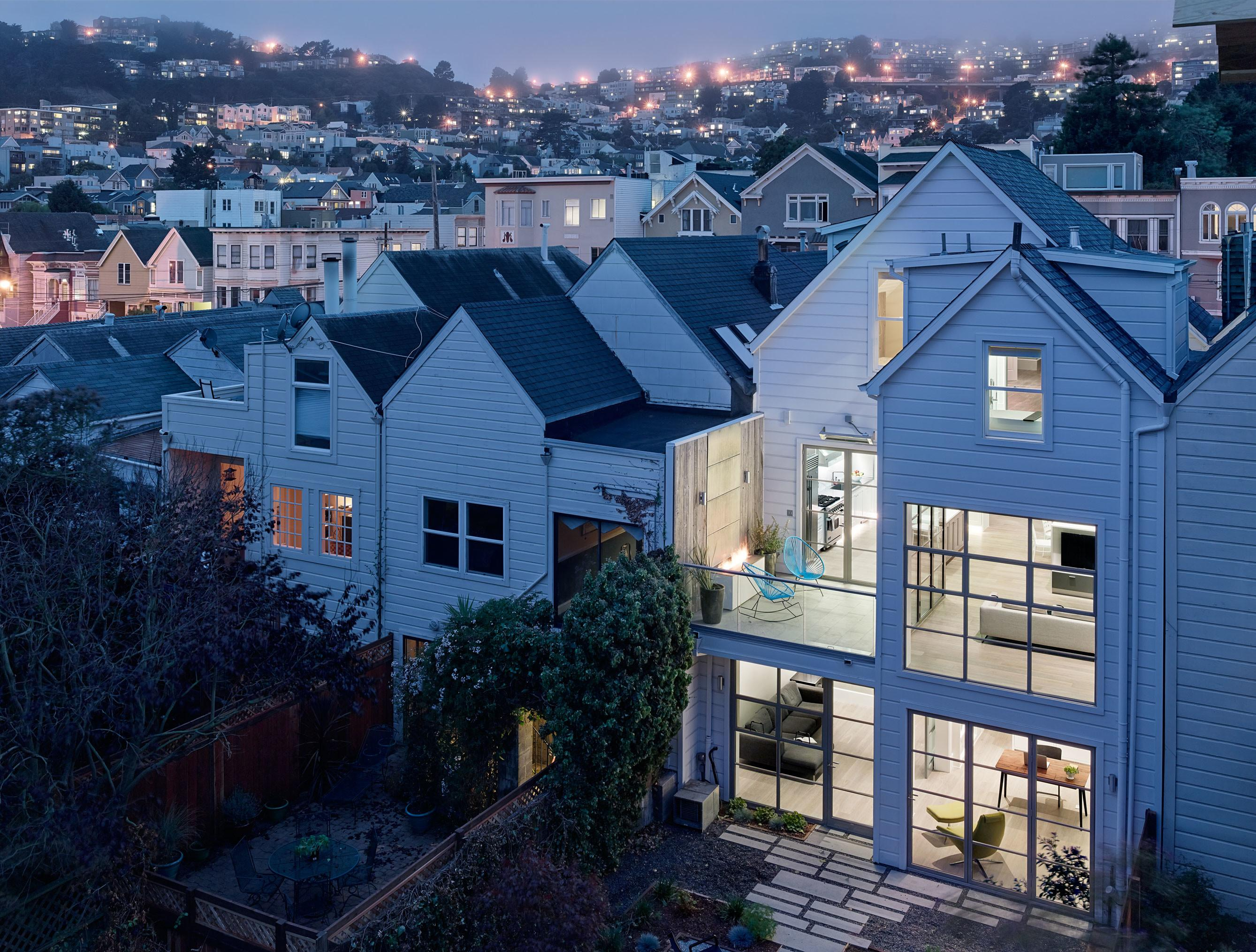 San Francisco Victorian Steps Into Future Remodeling
