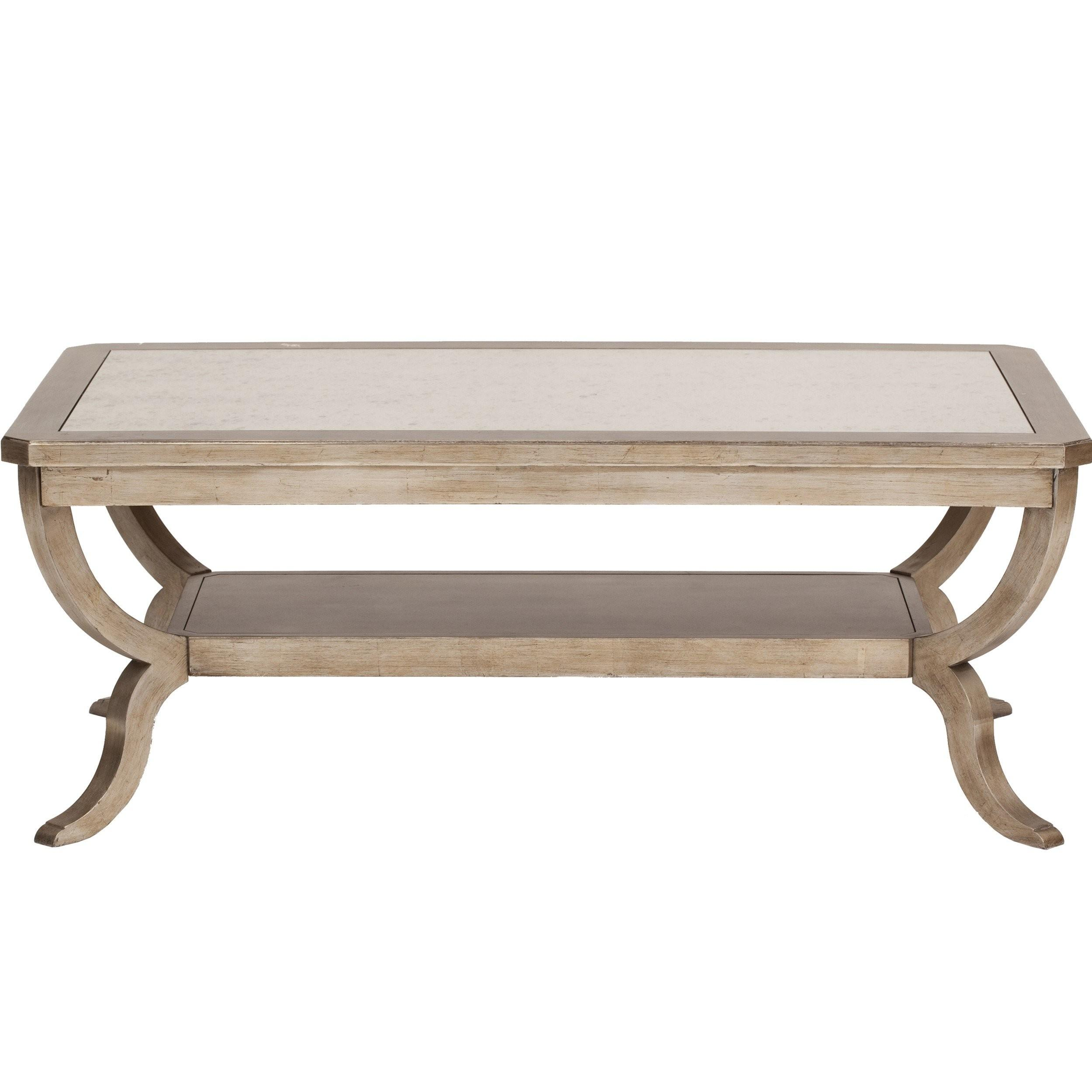 Sanctuary Mirrored Top Cocktail Table Furniture Accent