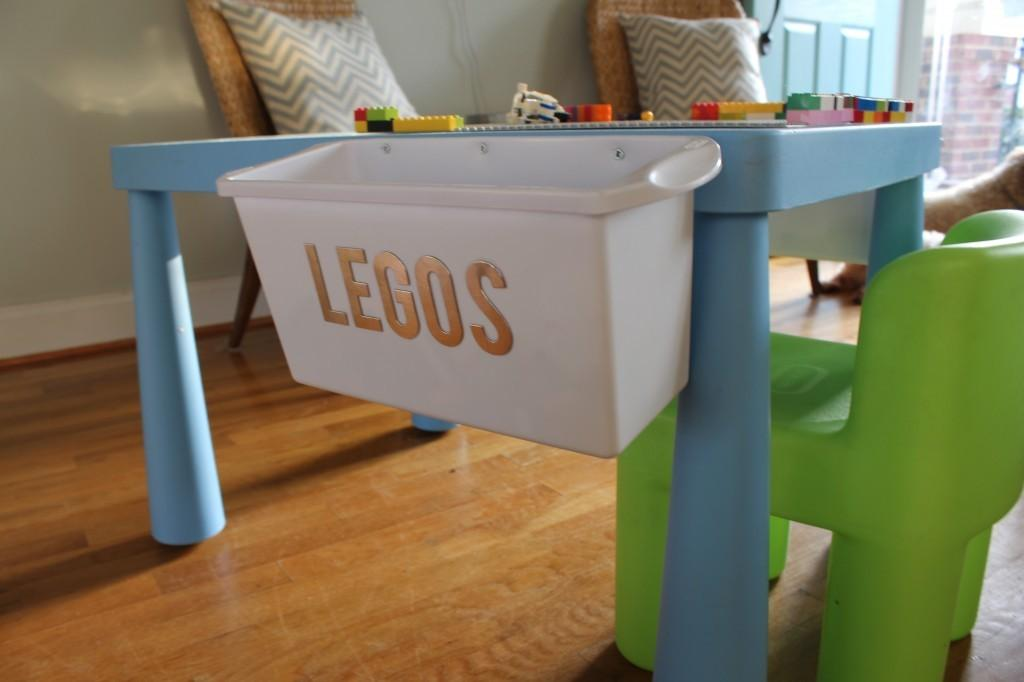 Santa Got Diy Skills Table Turned Lego