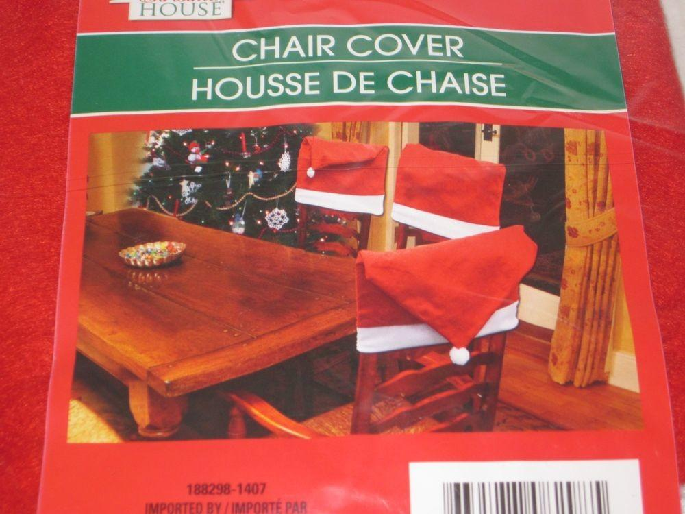 Santa Hat Chair Covers Back Dinning Room