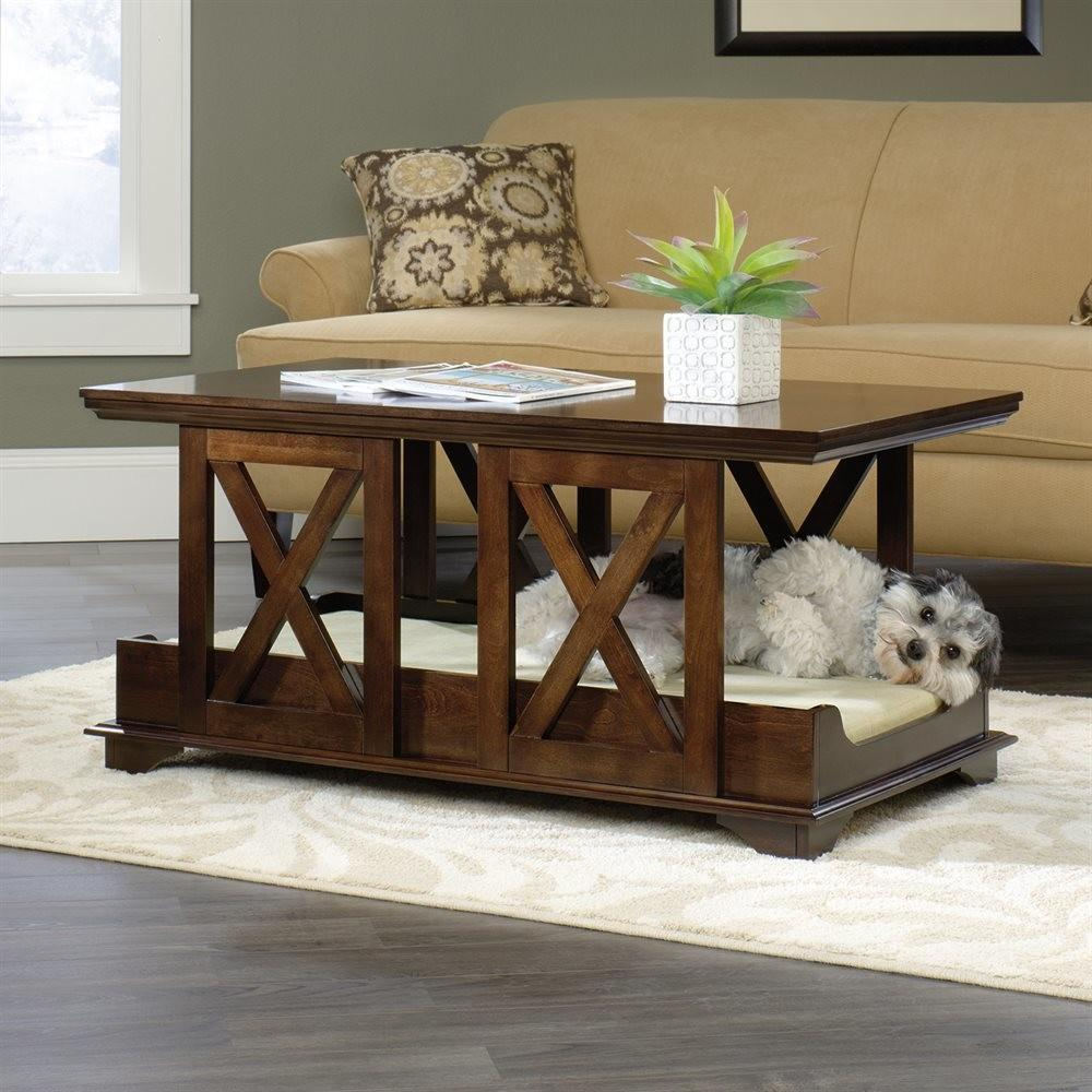 Sauder Coffee Table Pet Bed Atg Stores