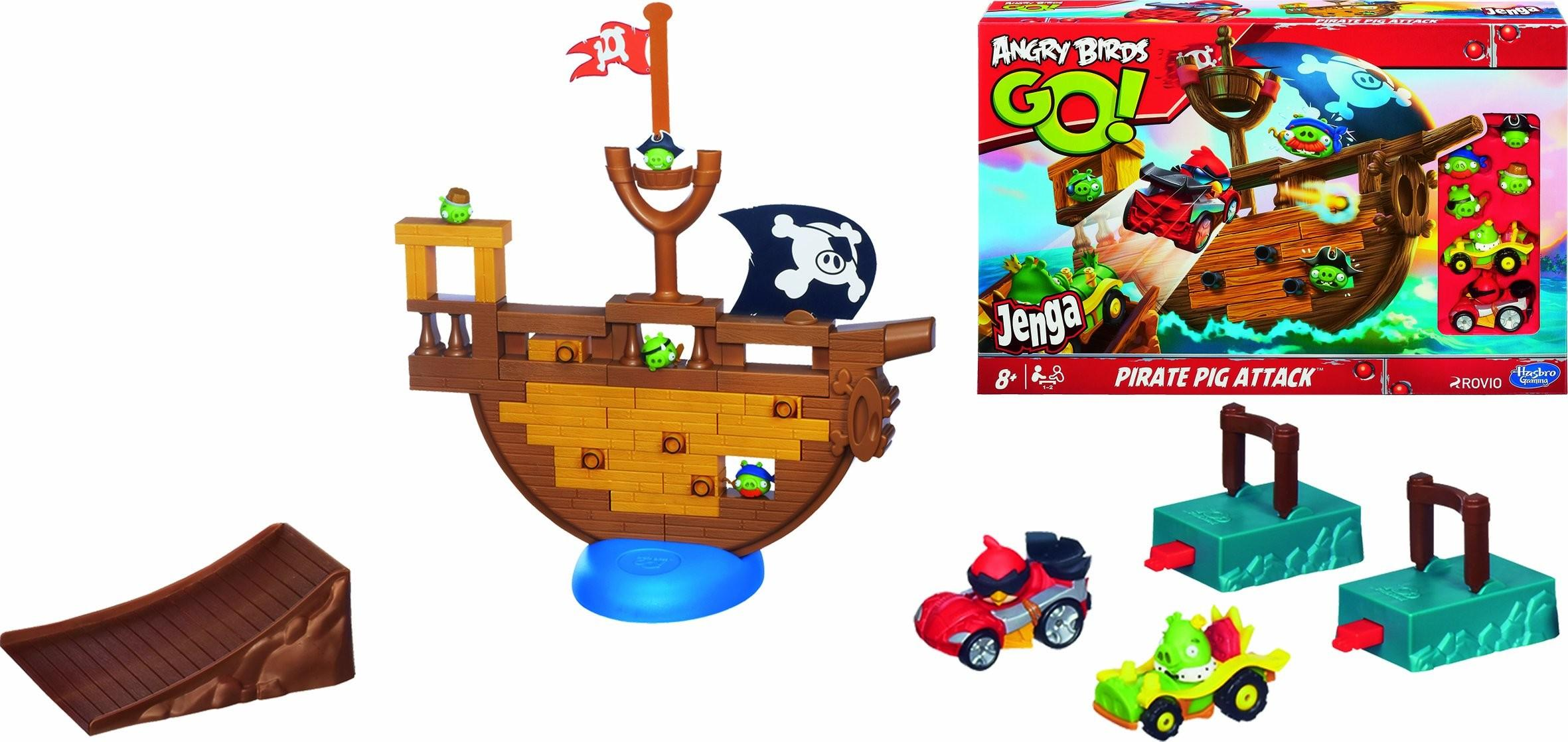 Save Angry Birds Pirate Pig Attack Board Game