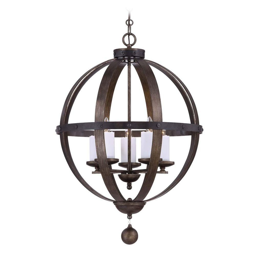 Savoy House Reclaimed Wood Pendant Light 9534 196