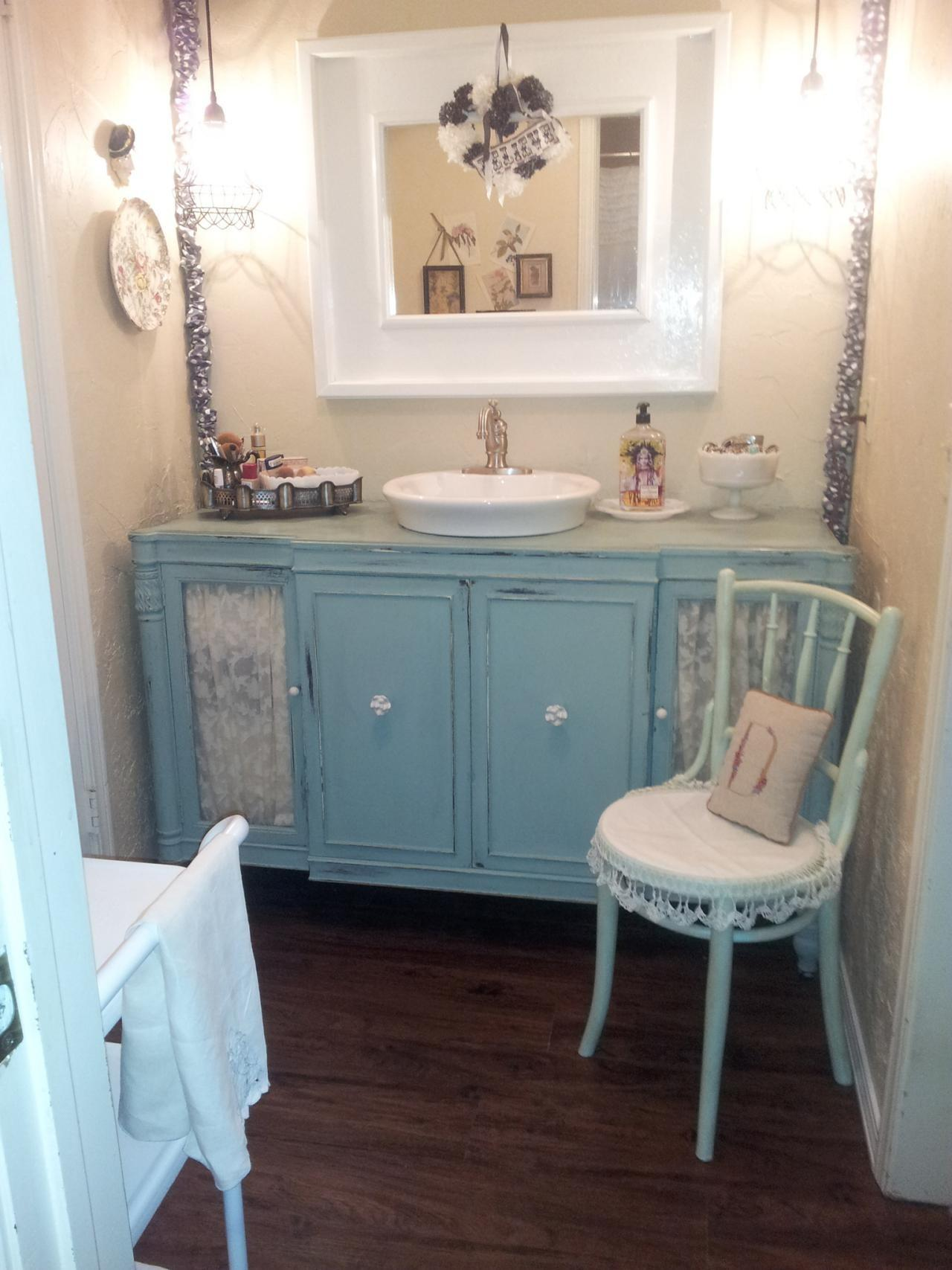 Savvy Bathroom Vanity Storage Ideas