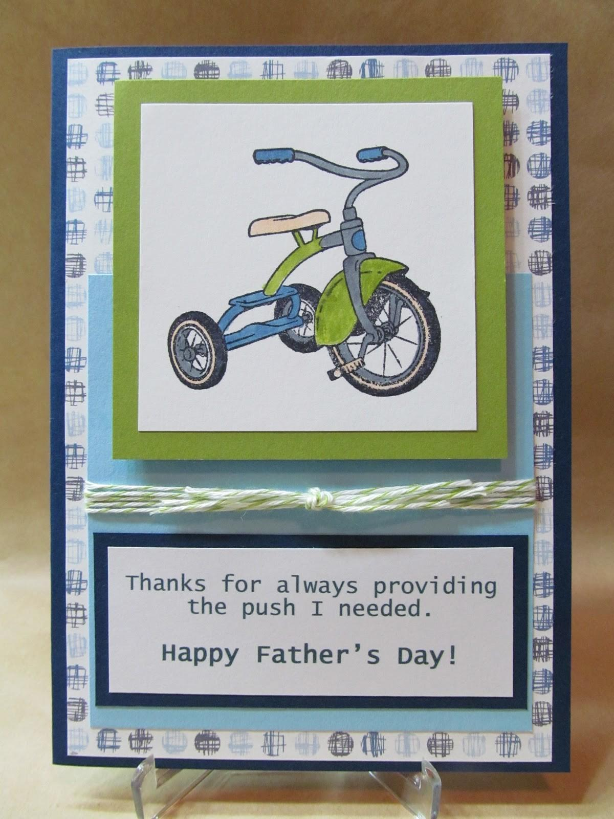 Savvy Handmade Cards Father Day Card