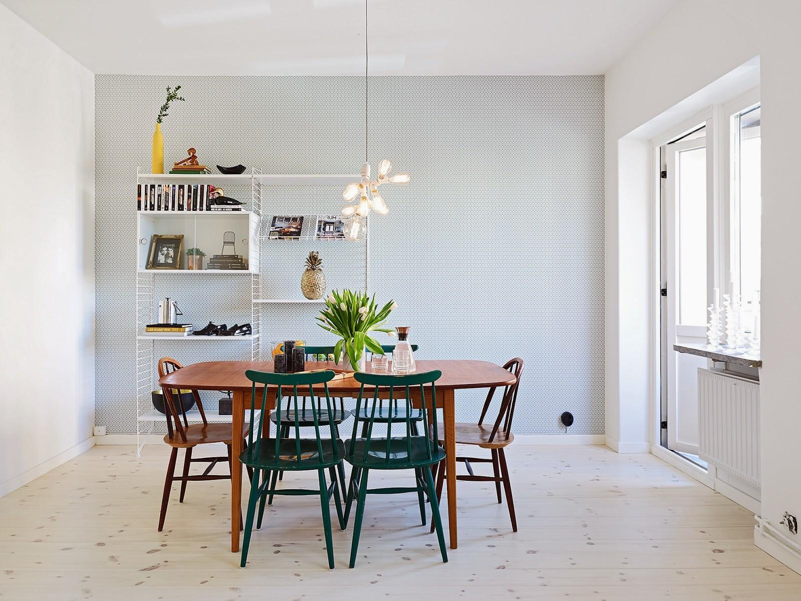 Scandinavian Home Cool Funkis Style Apartment