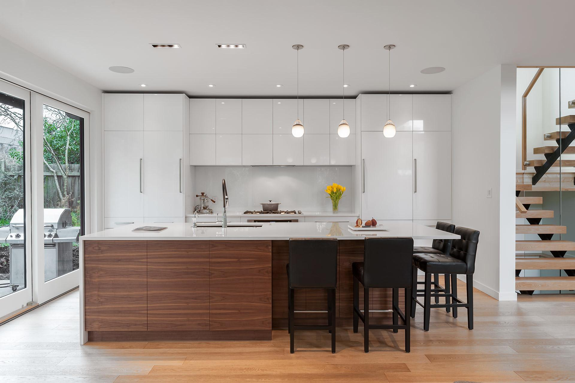 Scandinavian Influenced Kitchen Design Millwork