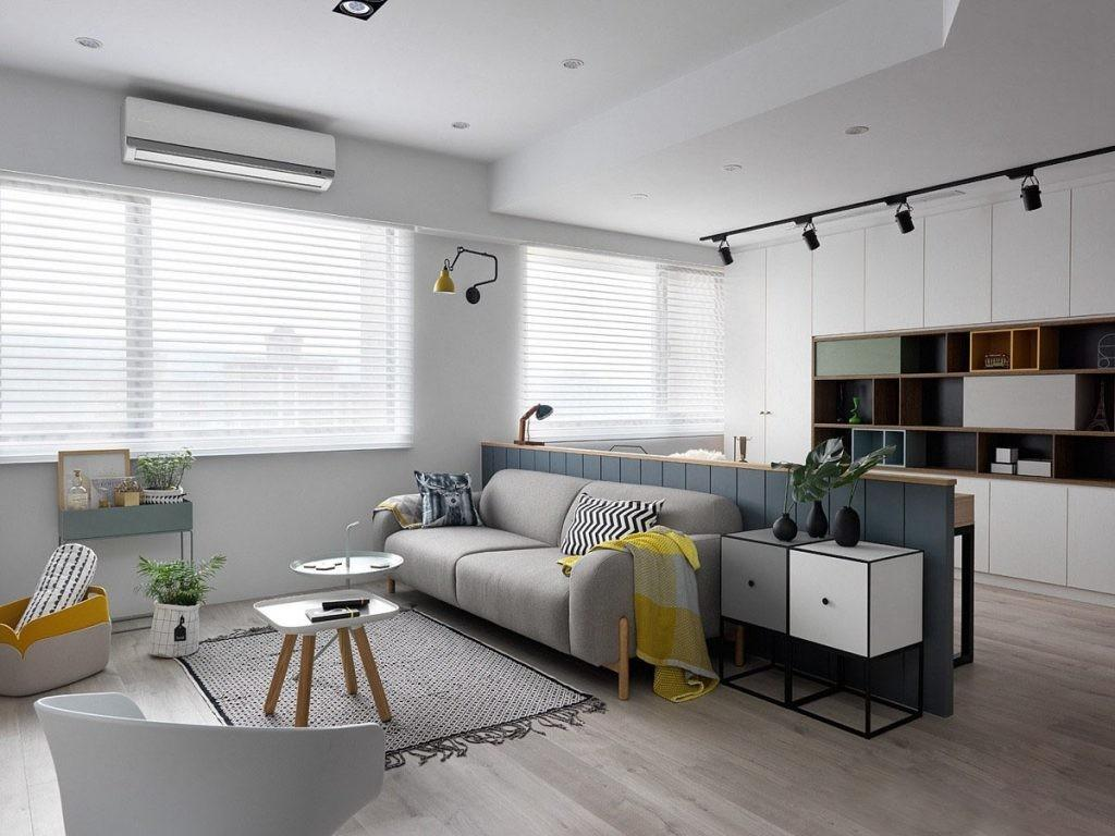Scandinavian Style Apartment Special Touch
