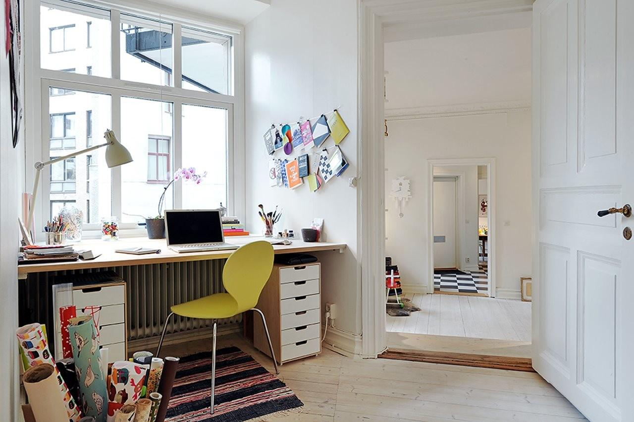 Scandinavian Style Three Room Apartment