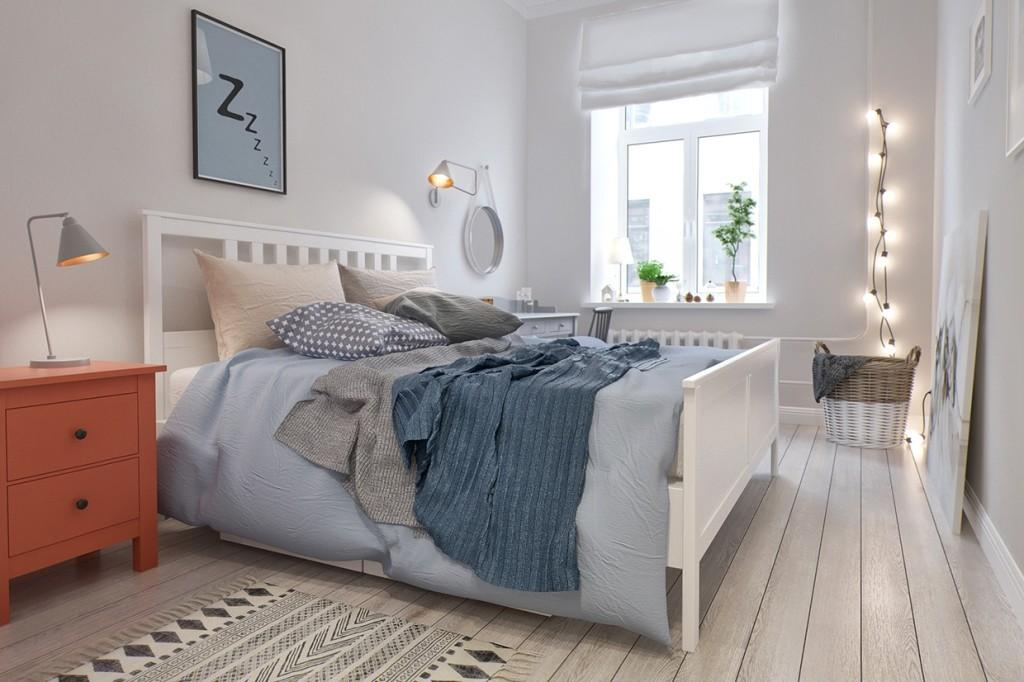 Scandinavian Style Two Bedroom Apartment Int2 Architecture