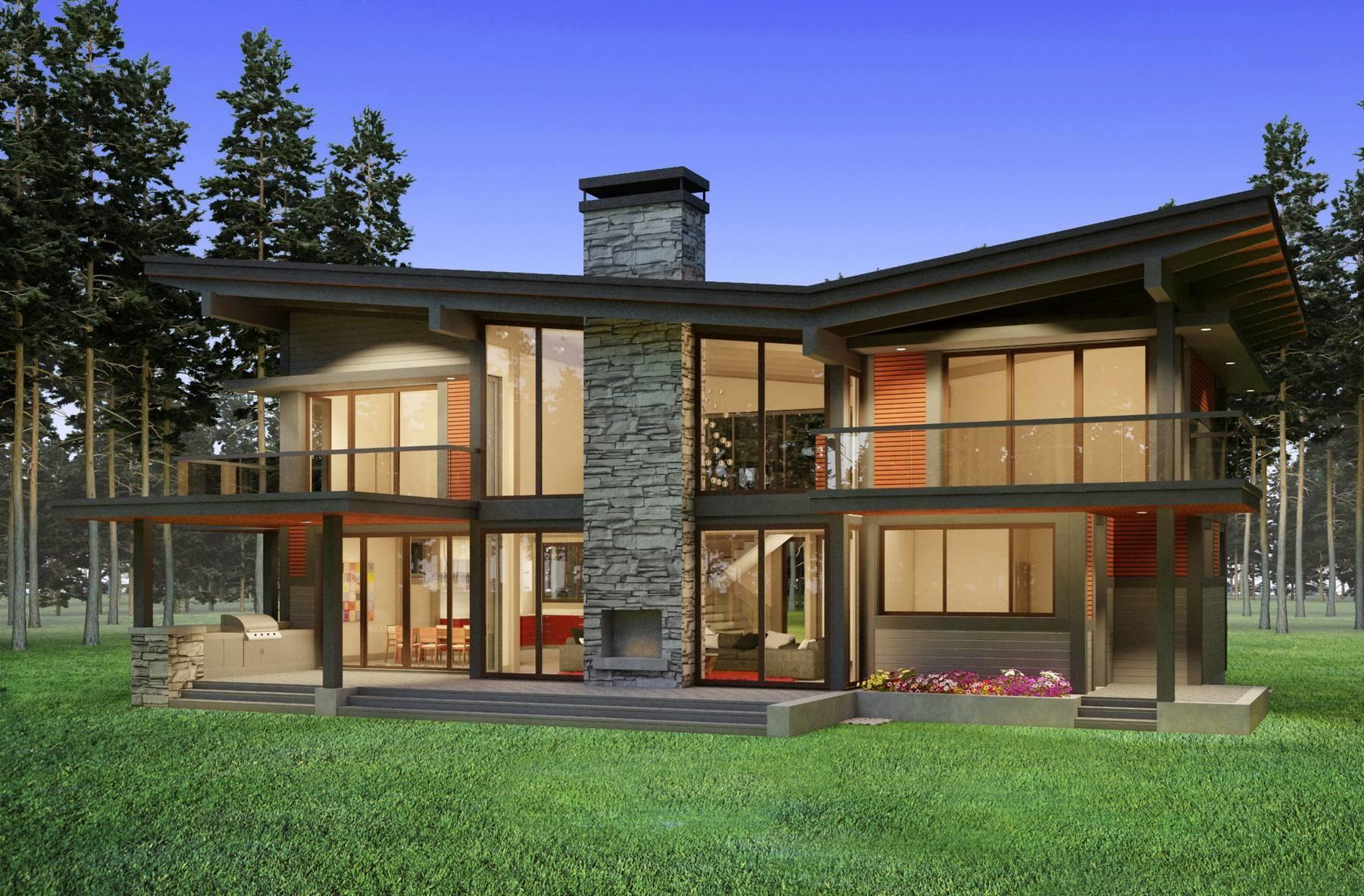 Scandinavian Timberframe Residential Architect Vancouver