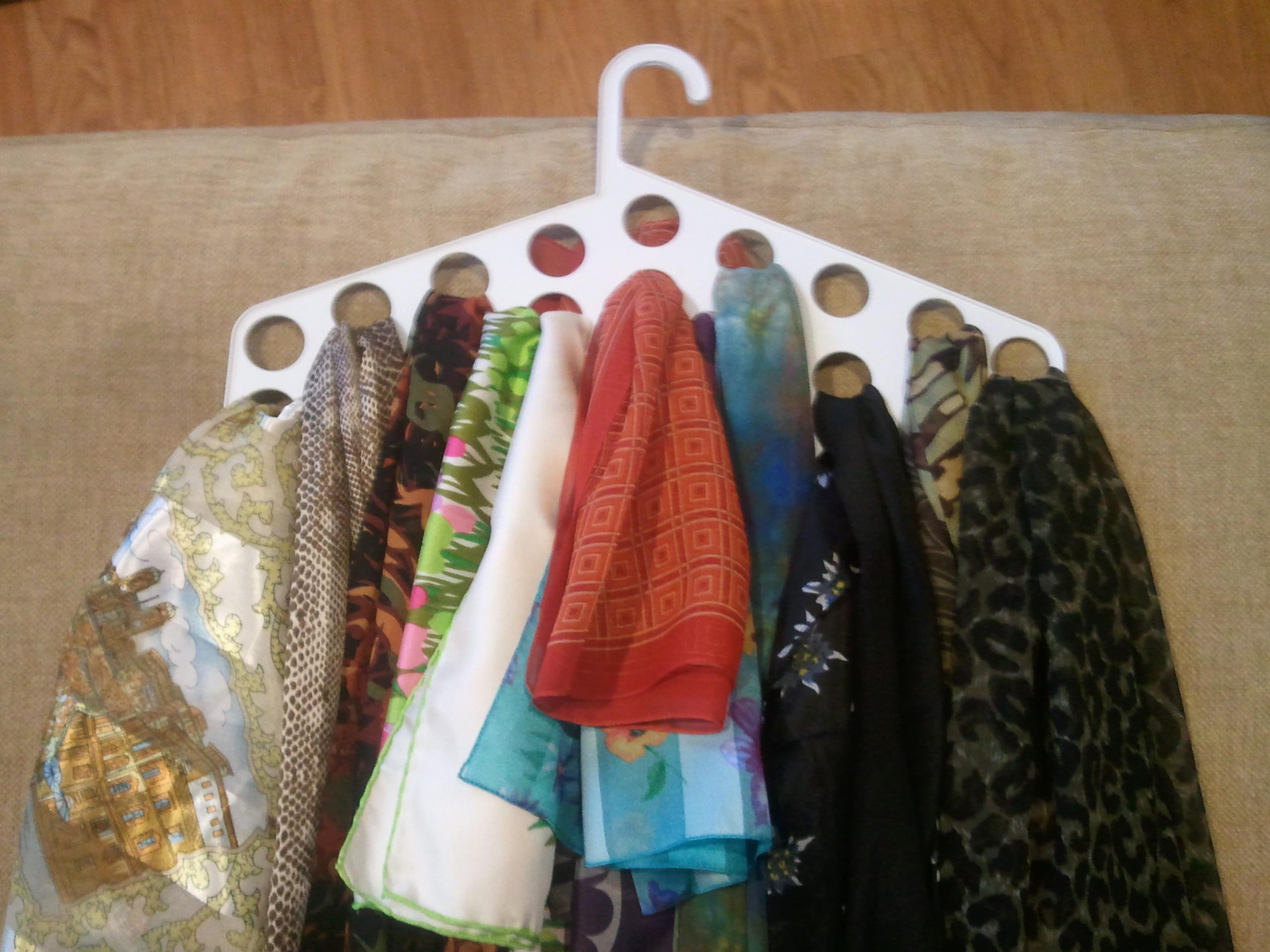 Scarf Storage Basic Organization