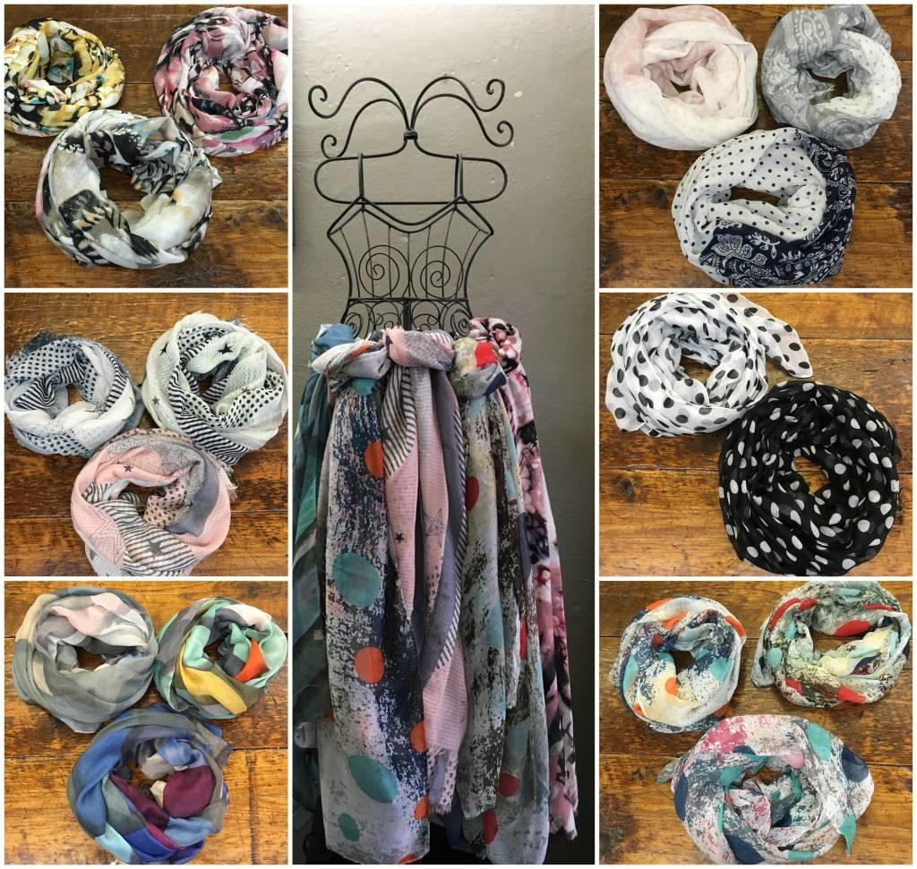 Scarf Wall Lousje Bean Boutique