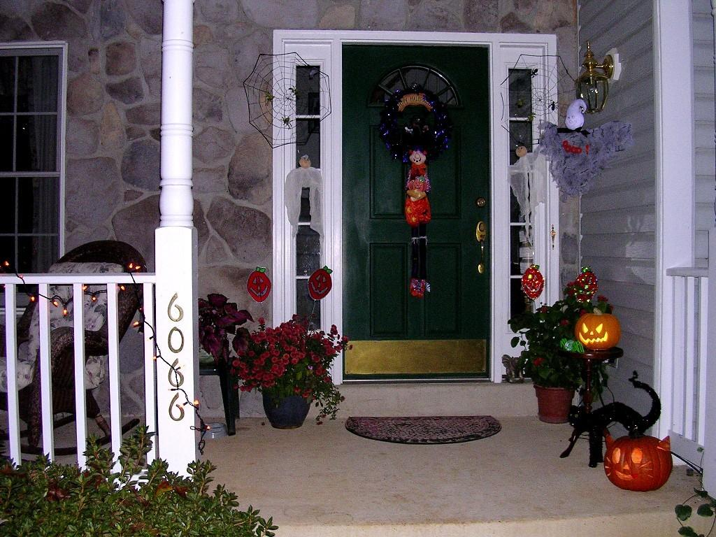 Scary Front Porch Decoration Ideas Halloween Home