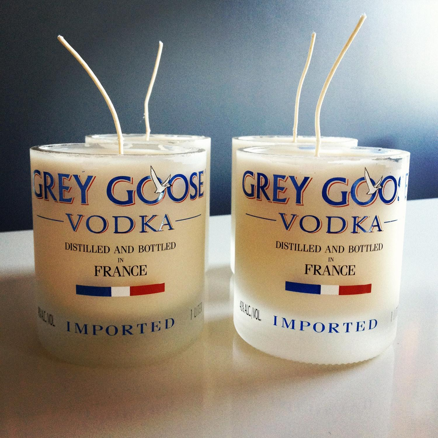 Scented Soy Candle Hand Poured Into Recycled Grey