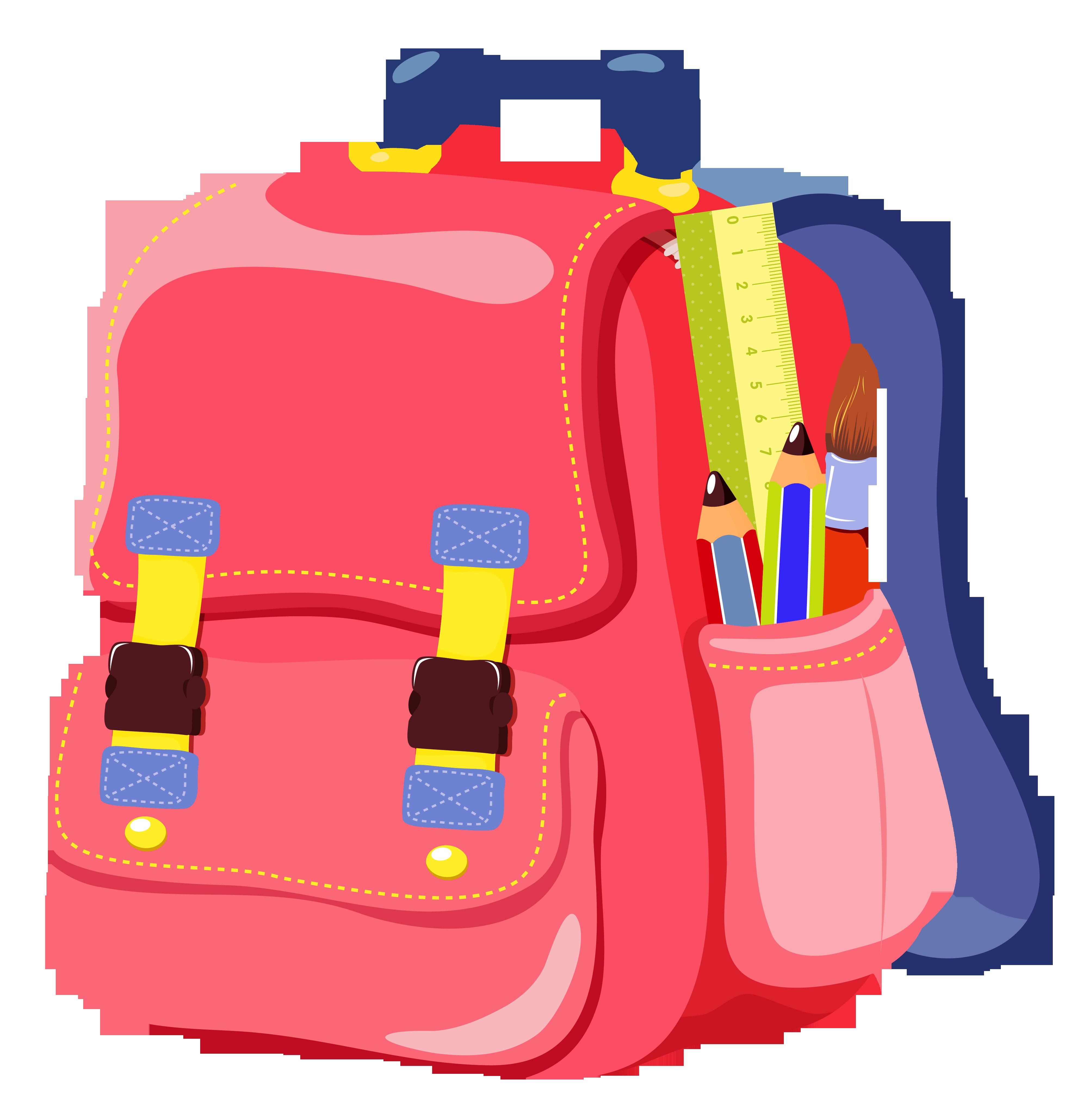 School Backpack Clipart Yopriceville High
