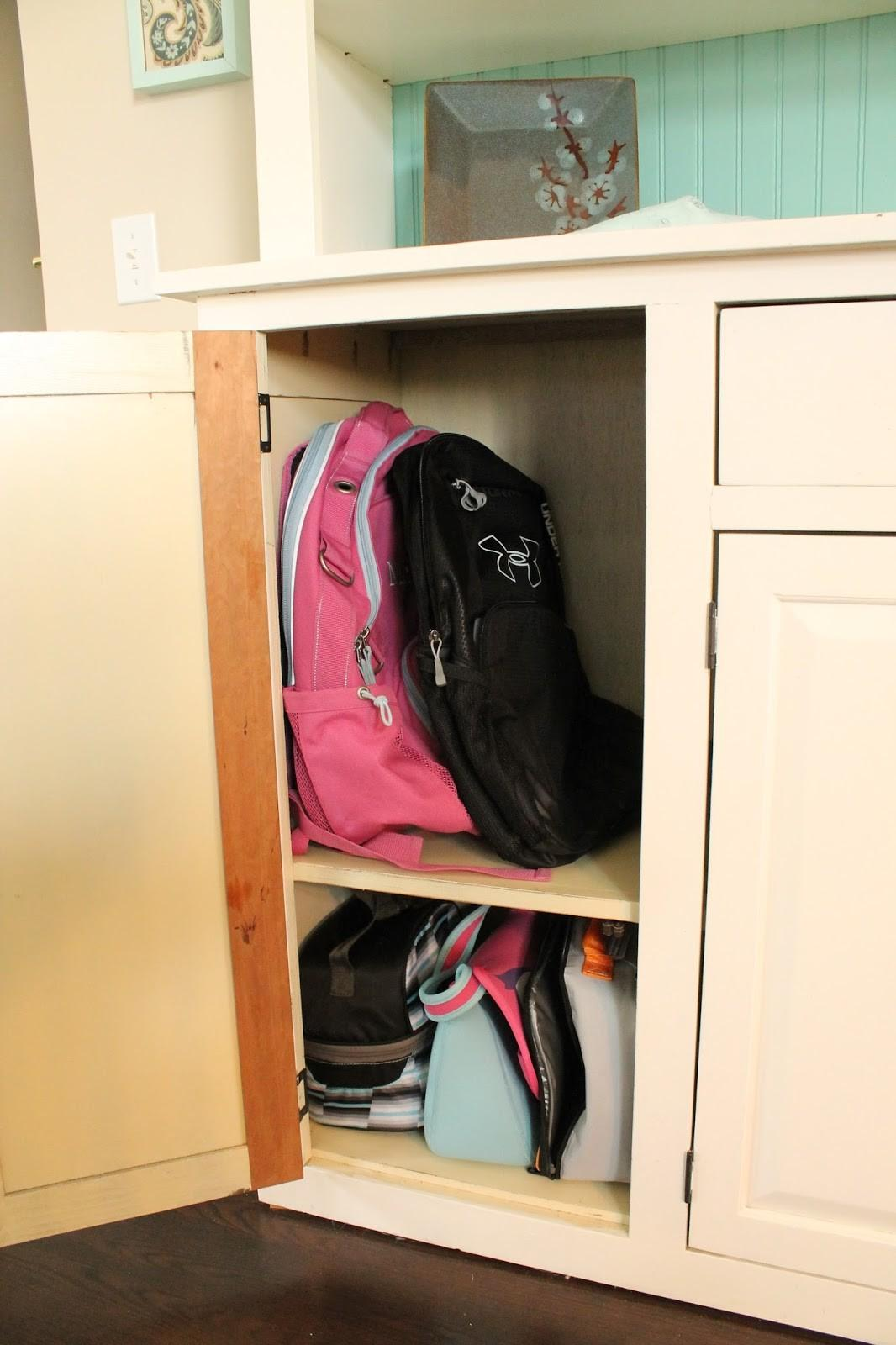 School Bag Storage Ideas Home 2016