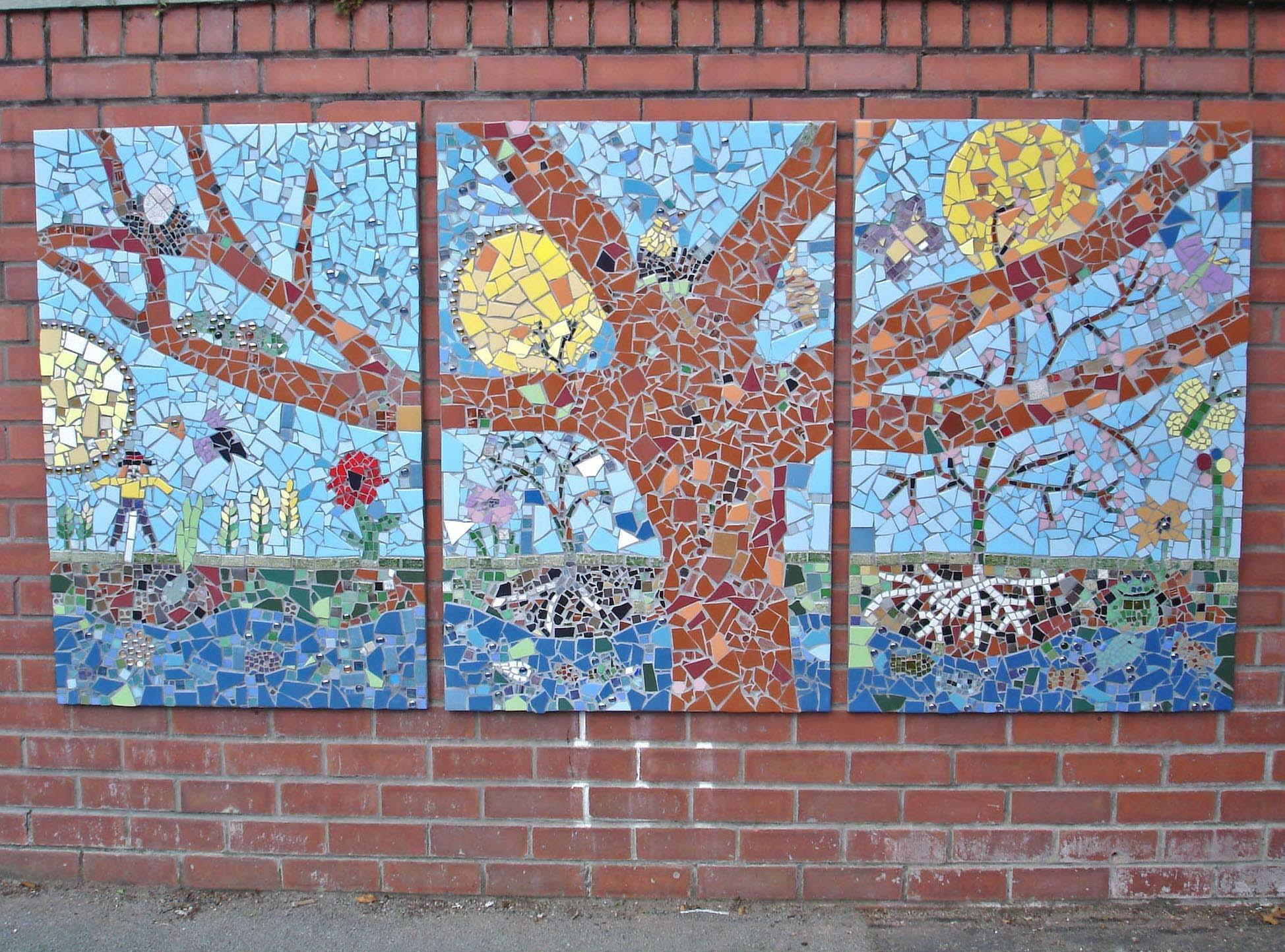 School Mosaic Project Tracey Cartledge Artist