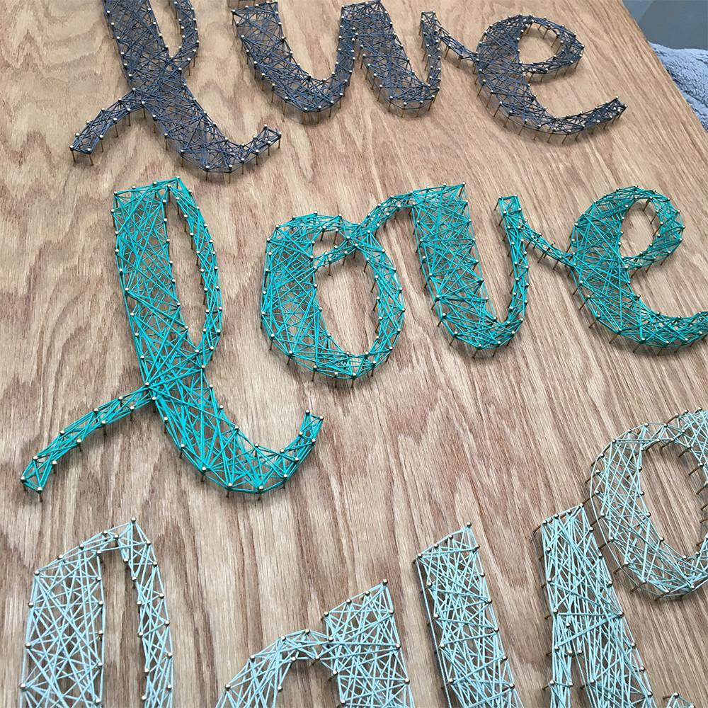 Scrappy Life Still Sell String Art