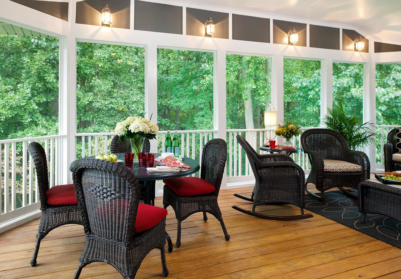 Screened Porch Raleigh Home Improvement Contractor