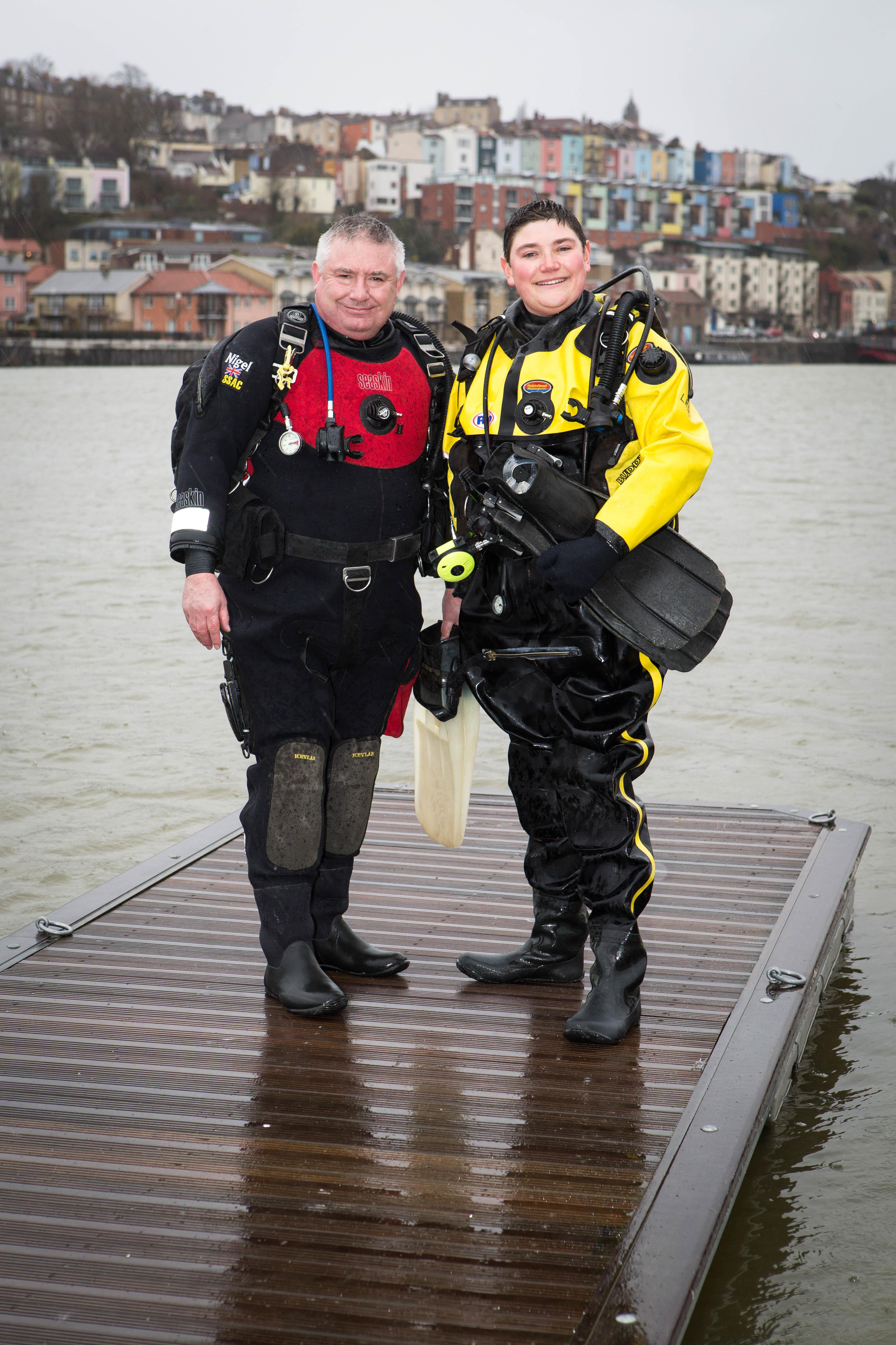 Scuba Divers Launch Appeal Relatives Cardiff First