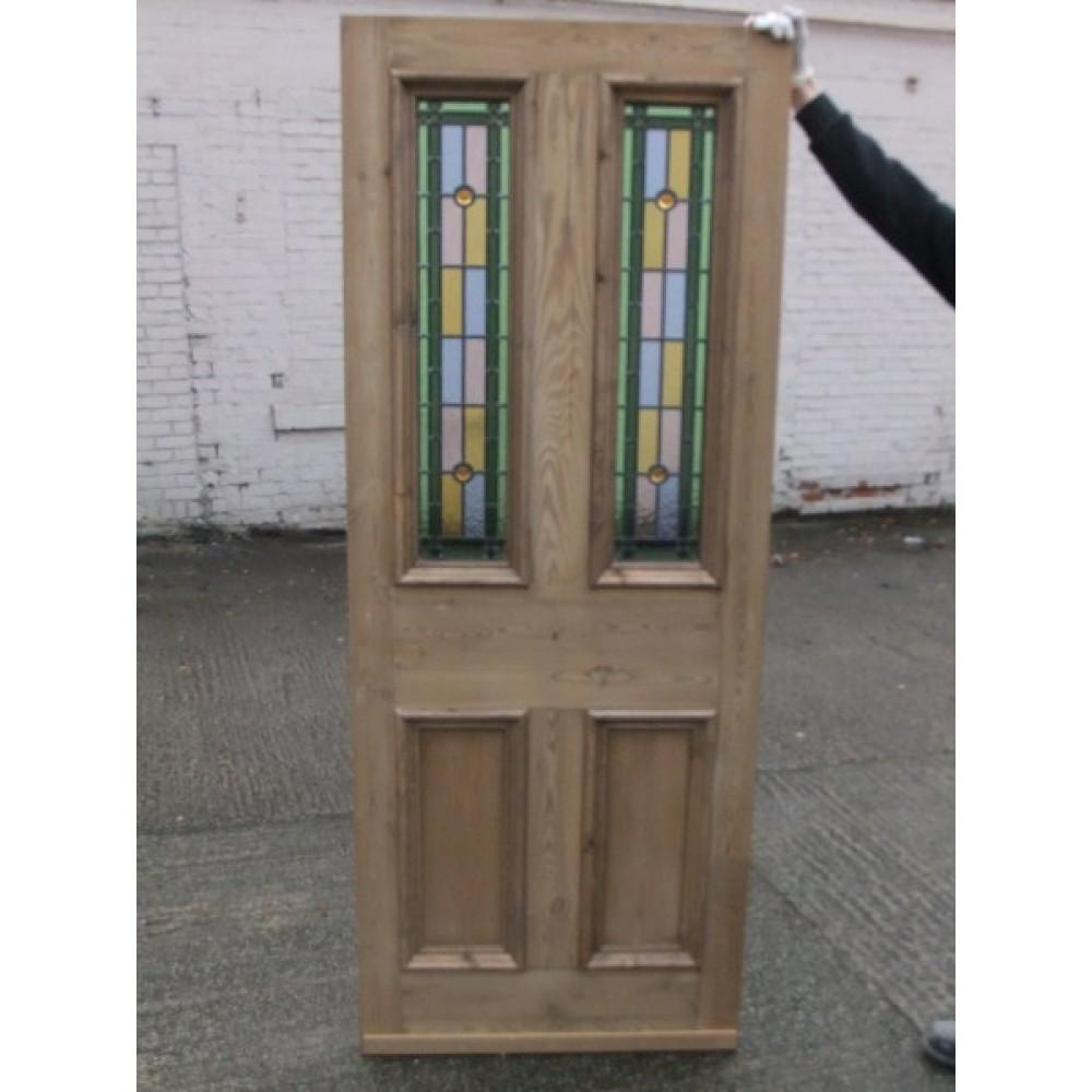Sd044 Victorian Edwardian Original Stained Glass