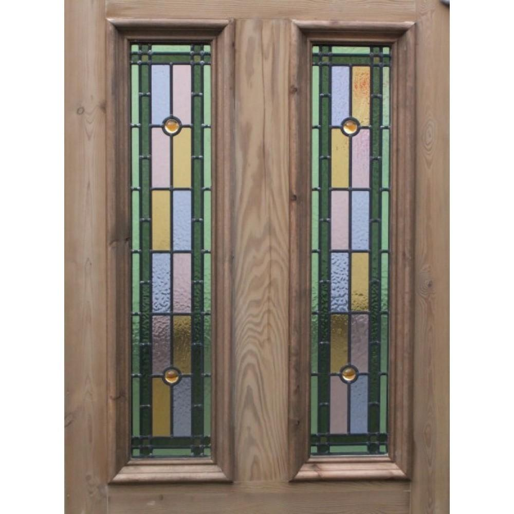 Sd045 Victorian Edwardian Original Stained Glass