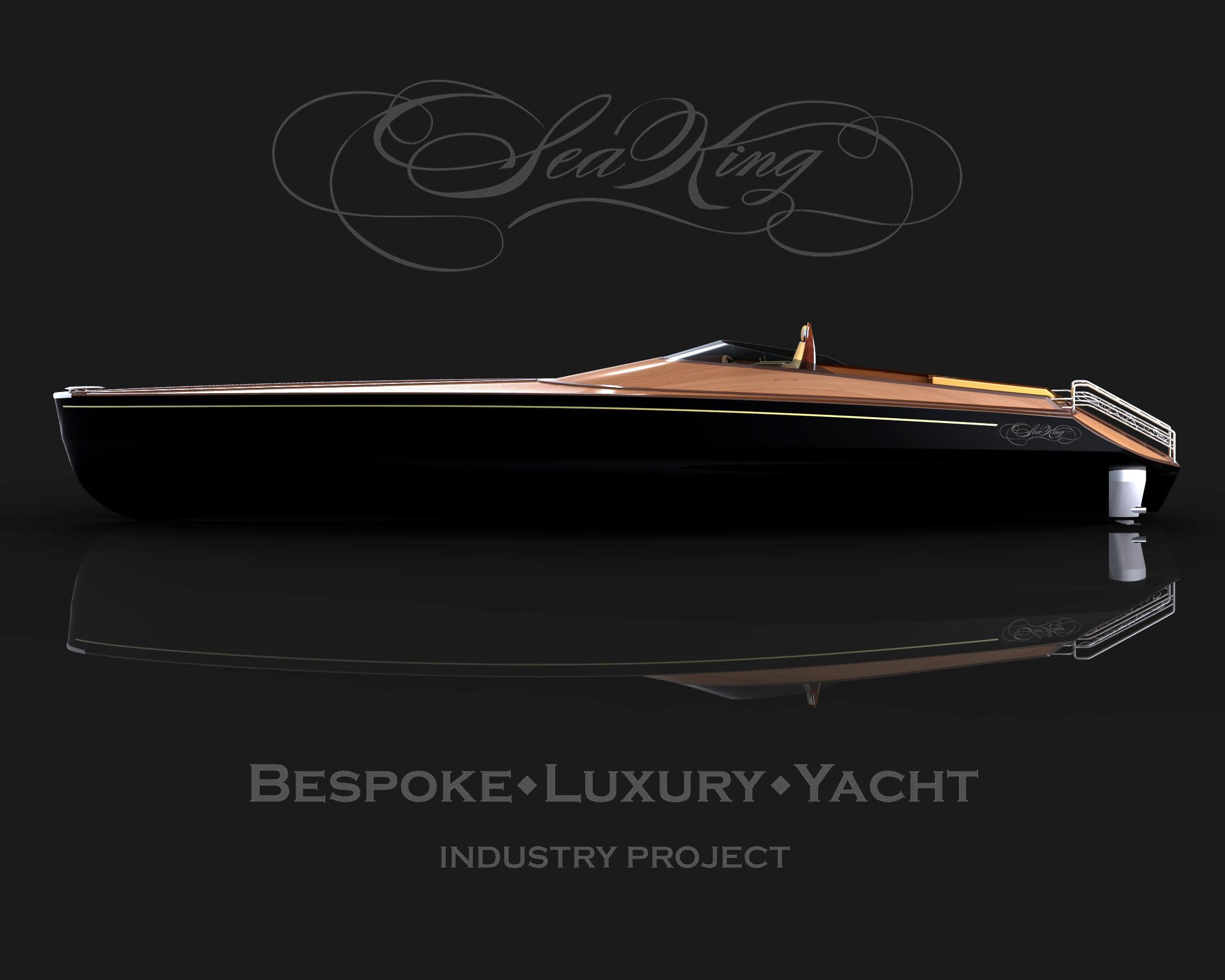 Sea King Bespoke Luxury Yacht Adam Schacter