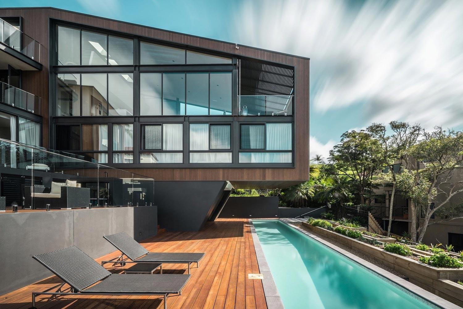 Seaforth House Two Cubes Residence Located Sydney